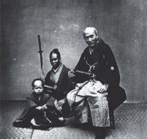 Der Nachkomme des schwarzen Samurai