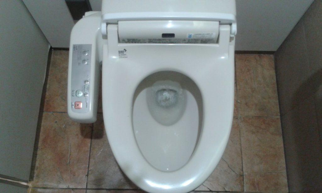High Tech-Toilette in Japan