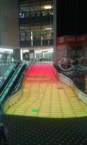 Regenbogen-Treppe Kawasaki