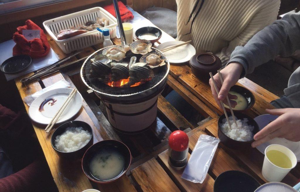 Fisch BBQ auf den Geyo-Inseln