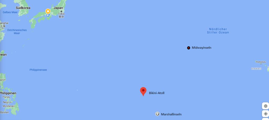 Marshallinseln-und-Bikini-Atoll