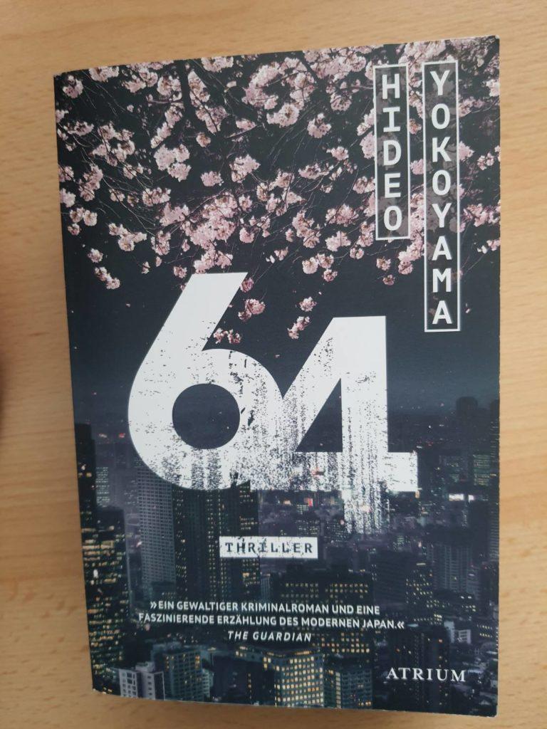 Japanische Bücher 64 des japanischen Autors Hideo Yokoyama