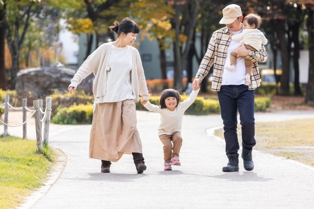 Vaterbilder in Japan