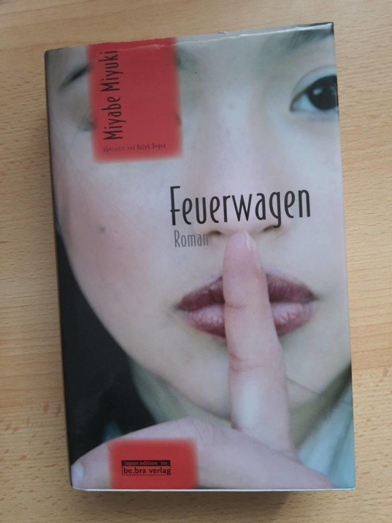 Japanische Bücher Feuerwagen der japanischen Autorin Miyuki Miyabe